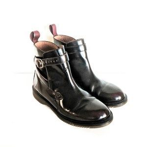 "Dr Martens ""Teresa"" Boots in Cherry Red Arcadia"